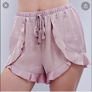 Free People Cascading Pedal Short